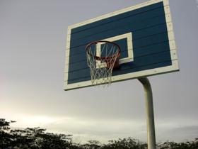 sporten basketbal